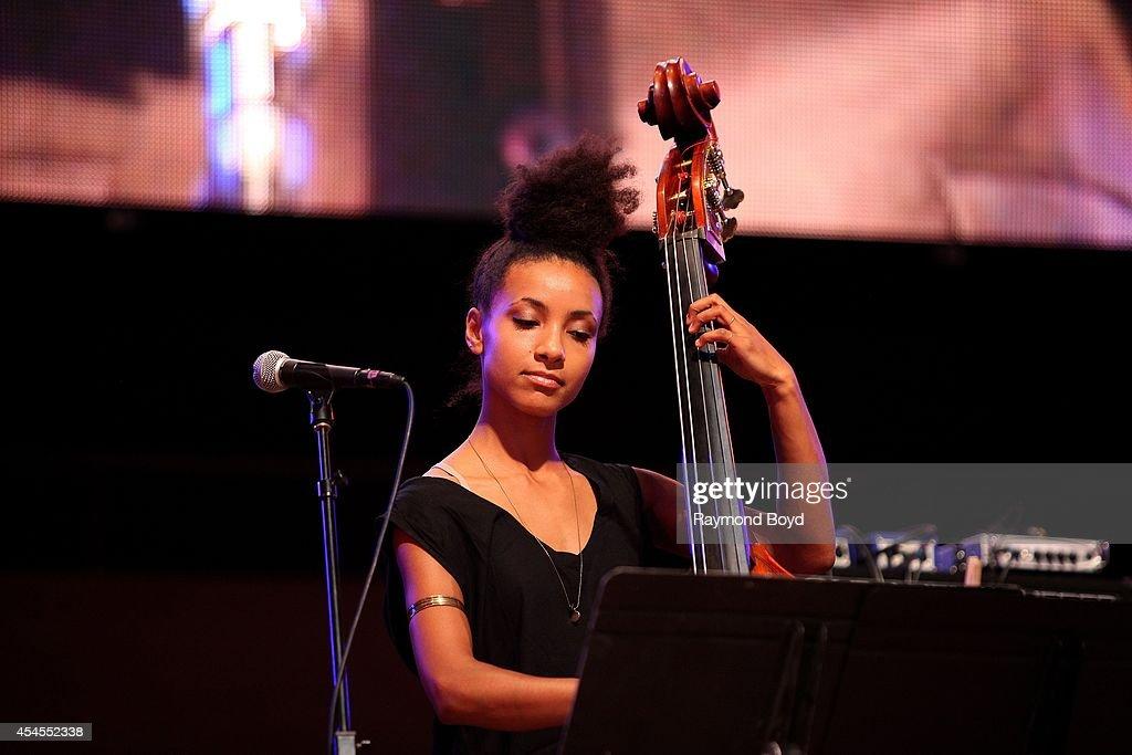 Bassist Esperanza Spalding from Tom Harrell Colors Of A Dream