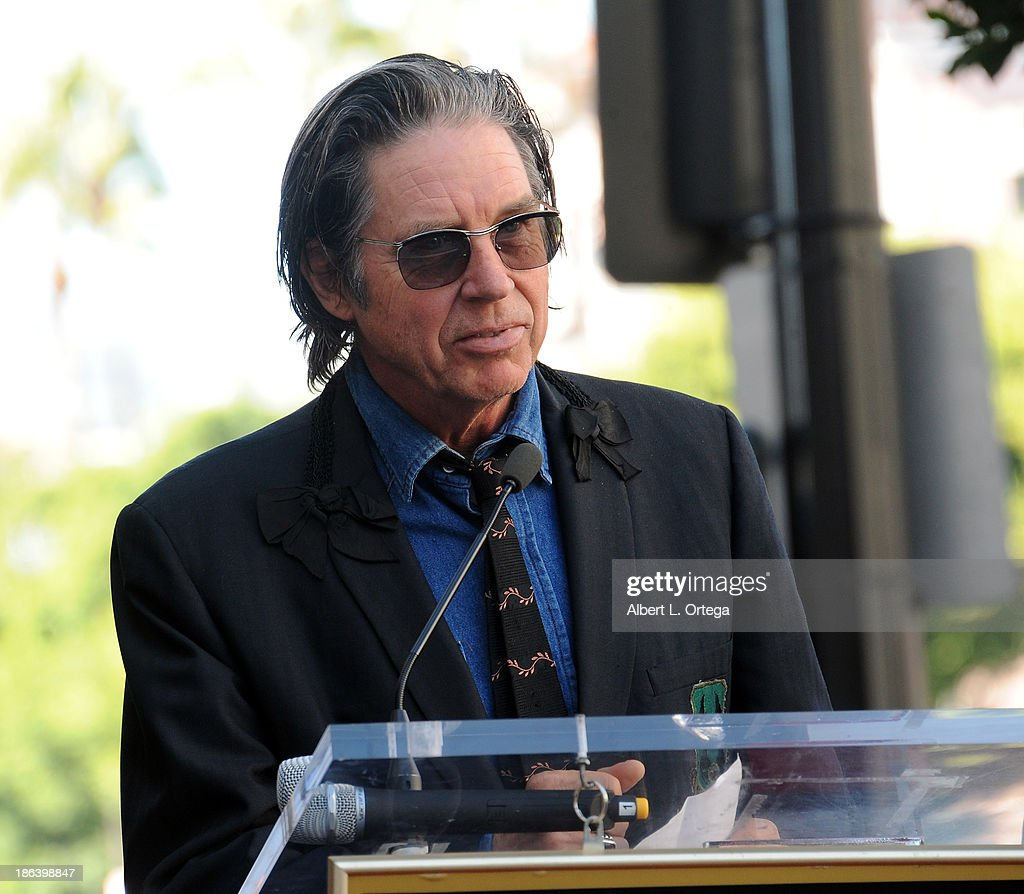 Bassist John Doe of X at Jane's Addiction Star On The Hollywood Walk Of Fame Ceremoney on October 30, 2013 in Hollywood, California.