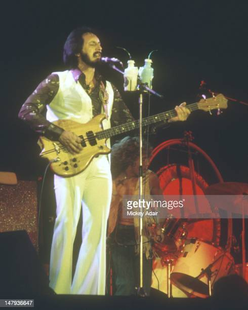 Bassist John Entwistle performs with The Who at The Gator Bowl in Jacksonville FL on August 7 1976
