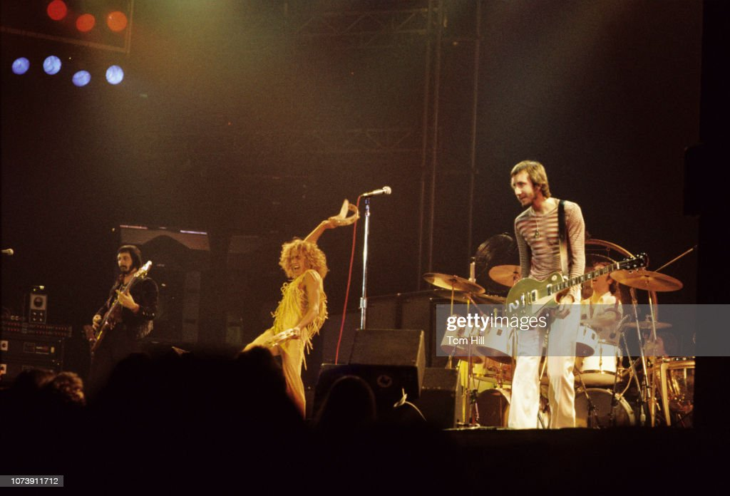 The Who Play Middle Tennessee State University : News Photo