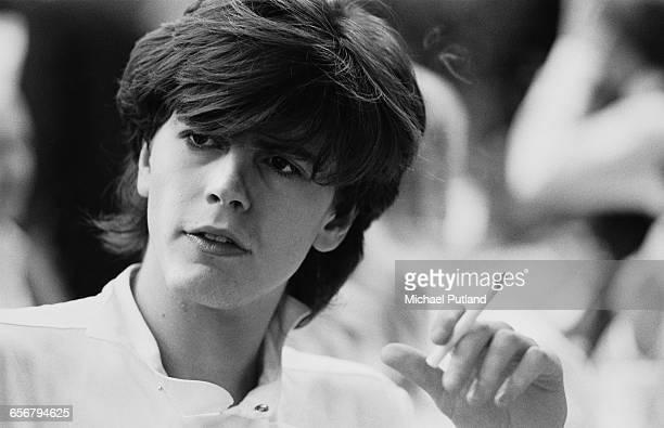 Bassist John Taylor of English new romantic group Duran Duran New York 1981