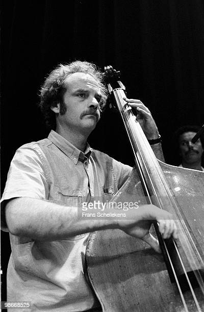 Bassist Kent Carter performs live at Bimhuis in Amsterdam, Netherlands on August 13 1983
