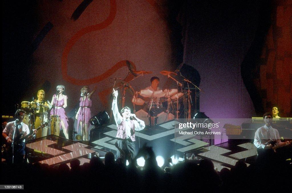Spandau Ballet Performing : News Photo