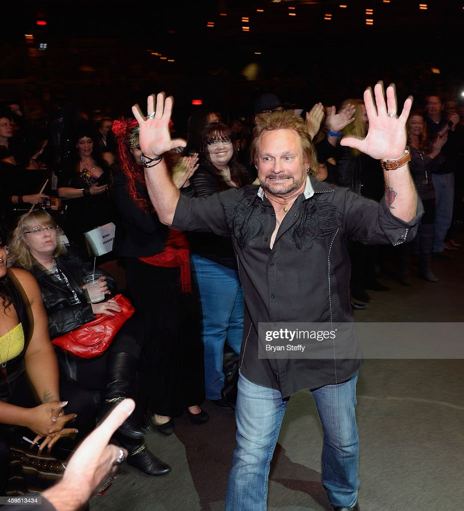 Bassist Michael Anthony attends The 5th annual Vegas Rocks! Magazine Music Awards at The Pearl Concert Theater at the Palms Casino Resort on November 23, 2014 in Las Vegas, Nevada.
