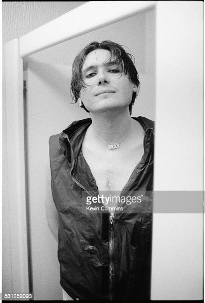 Bassist Nicky Wire of Welsh alternative rock group the Manic Street Preachers Swansea south Wales 20th September 1998