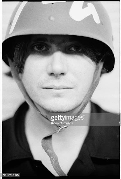 Bassist Nicky Wire of Welsh alternative rock group the Manic Street Preachers Margate Kent 22nd September 1998