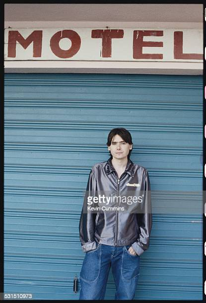 Bassist Nicky Wire of Welsh alternative rock group the Manic Street Preachers Los Angeles California September 1996