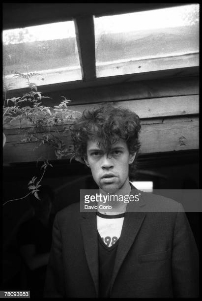 Bassist Paul Raven of the postpunk pop band 'Killing Joke' poses for a portrait on July 2 1982 in Camden England