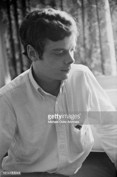 Bassist Paul SamwellSmith of English rock band The Yardbirds circa 1965