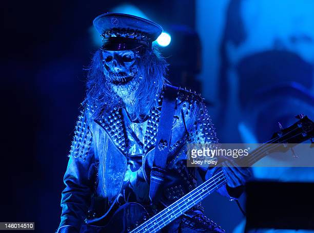 Bassist Piggy D of Rob Zombie performs live during the 2012 Rock On The Range festival at Crew Stadium on May 20 2012 in Columbus Ohio
