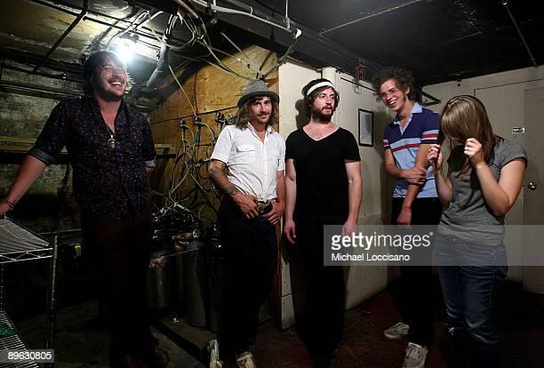 Bassist Zachary Scott Carothers guitarist and vocalist John Baldwin Gourley drummer Jason Sechrist keyboardist Ryan Neighbors and synthesist Zoe...