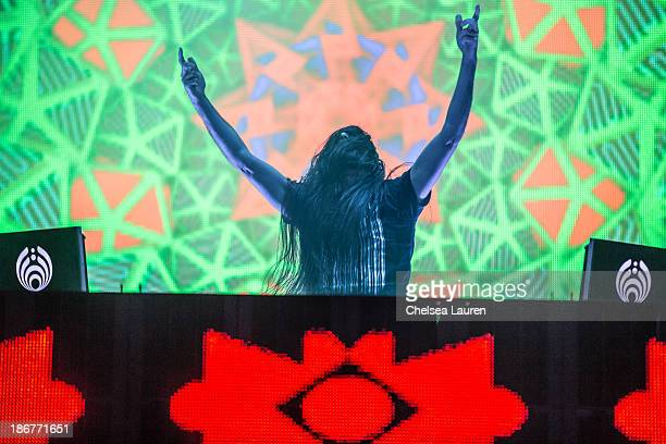 Bassnectar performs at the 2013 Voodoo Music Arts Experience at City Park on November 3 2013 in New Orleans Louisiana