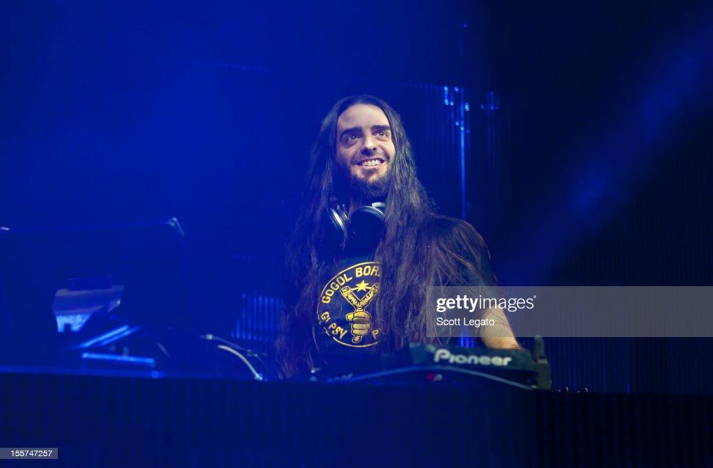 Bassnectar performs at The Fillmore on November 7, 2012 in Detroit, Michigan.
