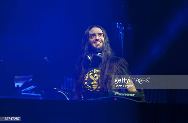 Bassnectar performs at The Fillmore on November 7 2012 in Detroit Michigan