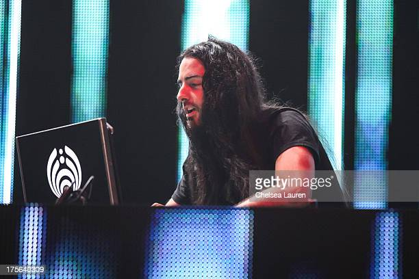 Bassnectar performs during day 2 of the HARD Summer festival at Los Angeles State Historic Park on August 4 2013 in Los Angeles California