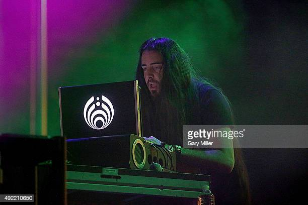 Bassnectar performs in concert on the 2nd day of the 2nd weekend of the Austin City Limits Music Festival at Zilker Park on October 9 2015 in Austin...
