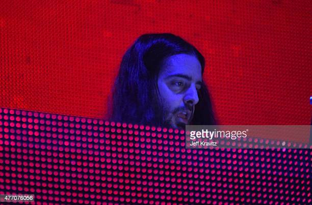 Bassnectar performs onstage at Which Stage during Day 3 of the 2015 Bonnaroo Music And Arts Festival on June 13 2015 in Manchester Tennessee