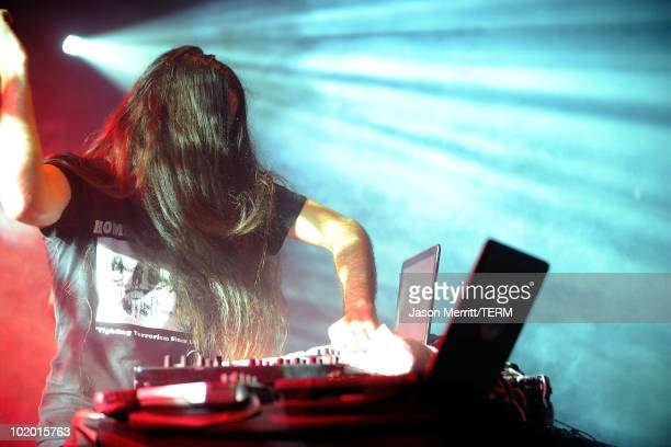 Bassnectar performs onstage during Bonnaroo 2010 at This Tent on June 11 2010 in Manchester Tennessee