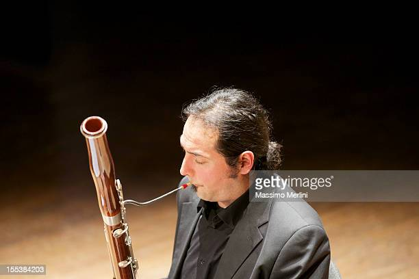 bassoonist - bassoon stock pictures, royalty-free photos & images