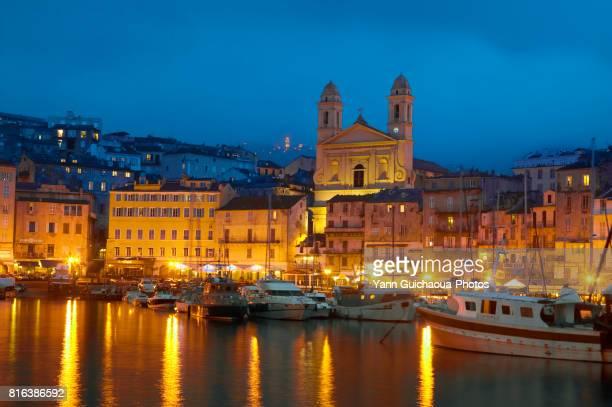 bastia, corsica, france - corsica stock photos and pictures