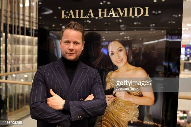Bastian Ammelounx attends the 'Easy to pack brushes' launch by Laila Hamidi at Breuninger on March 16 2019 in Duesseldorf Germany
