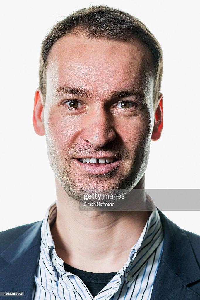 Bastian Dankert, manager of 'Landesfussballverband Mecklenburg-Vorpommern', poses during DFB National Association General Manager - Photocall at DFB Headquarter on December 4, 2014 in Frankfurt am Main, Germany.