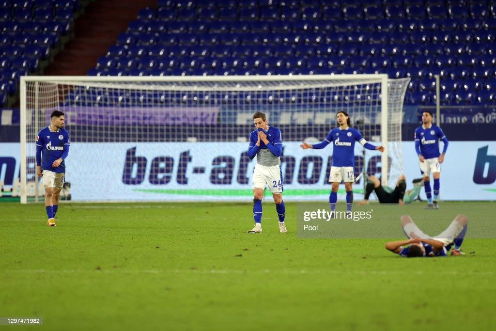 FC Schalke 04 v 1. FC Koeln - Bundesliga : News Photo