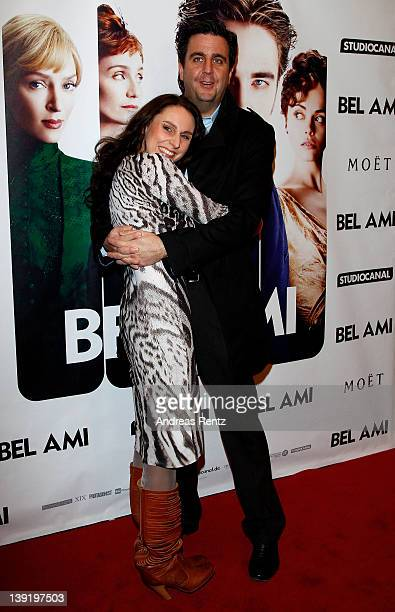 Bastian Pastewka and Heidrun Buchmaier attend the Bel Ami Party during day nine of the 62nd Berlinale International Film Festival at Meistersaal on...