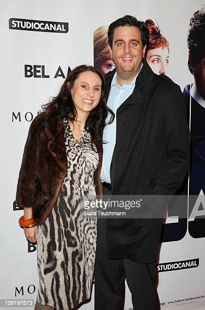 """Bastian Pastewka and Heidrun Buchmaier attend the """"Bel Ami"""" Party during day nine of the 62nd Berlinale International Film Festival at Meistersaal on..."""