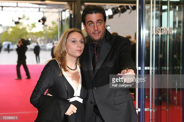 Bastian Pastewka and Heidrun Buchmaier attend the German Television Awards at the Coloneum on October 20 2006 in Cologne Germany