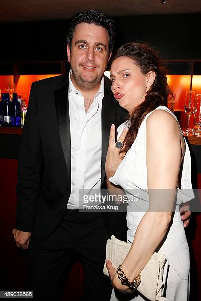 Bastian Pastewka and Heidrun Buchmaier attend the Lola German Film Award 2014 at Tempodrom on May 09 2014 in Berlin Germany