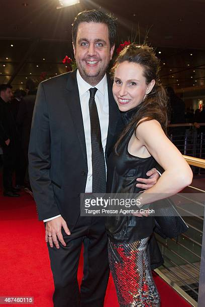 Bastian Pastewka and Heidrun Buchmaier attend the Opening Party of the 64th Berlinale International Film Festival on February 6, 2014 in Berlin,...