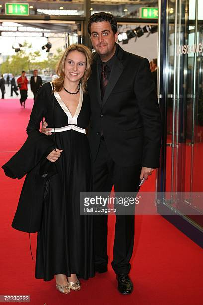 Bastian Pastewka and Heidrun Buchmaier attends the German Television Awards at the Coloneum on October 20 2006 in Cologne Germany