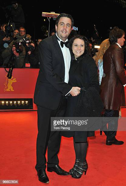 Bastian Pastewka and wife Heidrun Buchmaier attend the 'Tuan Yuan' Premiere during day one of the 60th Berlin International Film Festival at the...