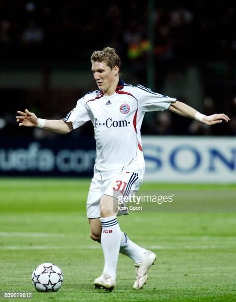 Bastian SCHWEINSTEIGER Milan Ac / Bayern de Munich 1/4 de Finale Champions League