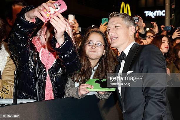Bastian Schweinsteiger arrives at the Bambi Awards 2014 on November 13 2014 in Berlin Germany