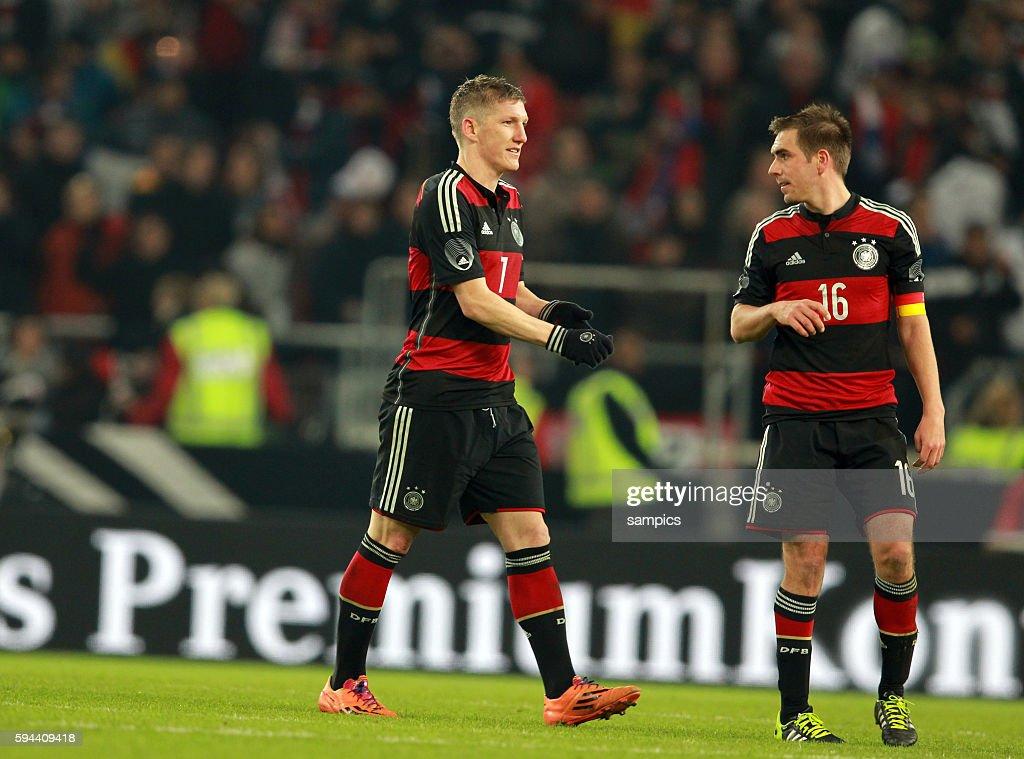 Bastian Schweinsteiger Deutschland Mit Phlipp Lahm Deutschland News Photo Getty Images