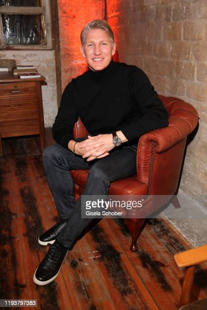 Bastian Schweinsteiger during the BRAX house party during Berlin Fashion Week Autumn/Winter 2020 at Fabrik 23 on January 14, 2020 in Berlin, Germany.