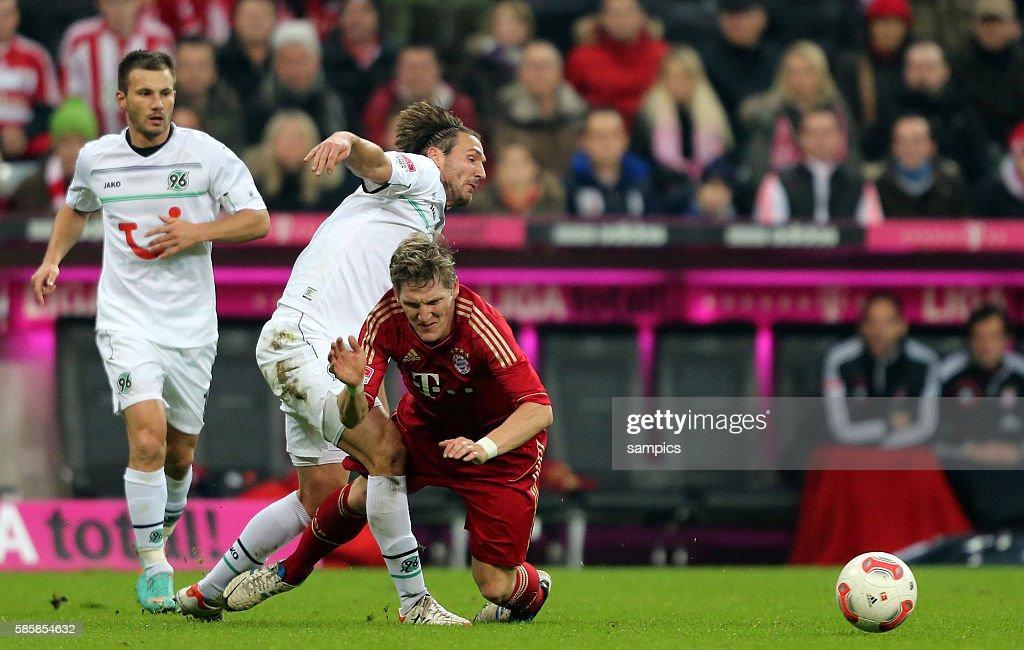 Bastian SCHWEINSTEIGER FC Bayern München gegen Christian