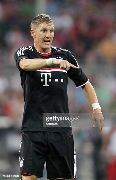 Bastian SCHWEINSTEIGER FC Bayern Munchen Fussball Vorbereitung Audi Cup FC Bayern Munchen AC Mailand Vorbereitung Saison 2011 / 2012