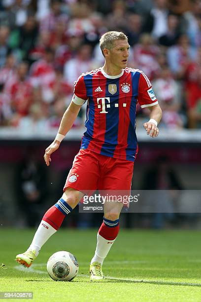 Bastian Schweinsteiger Fussball Bundesliga : FC Bayern München -VFB Stuttgart