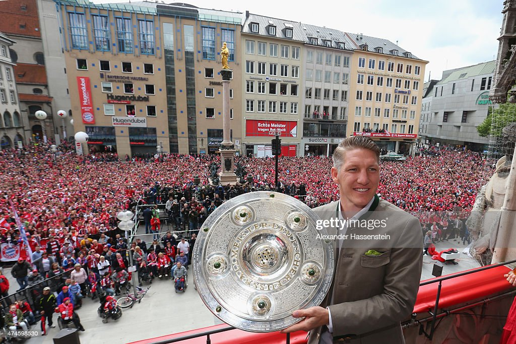 FC Bayern Muenchen Celebrate Winning The Bundesliga : News Photo