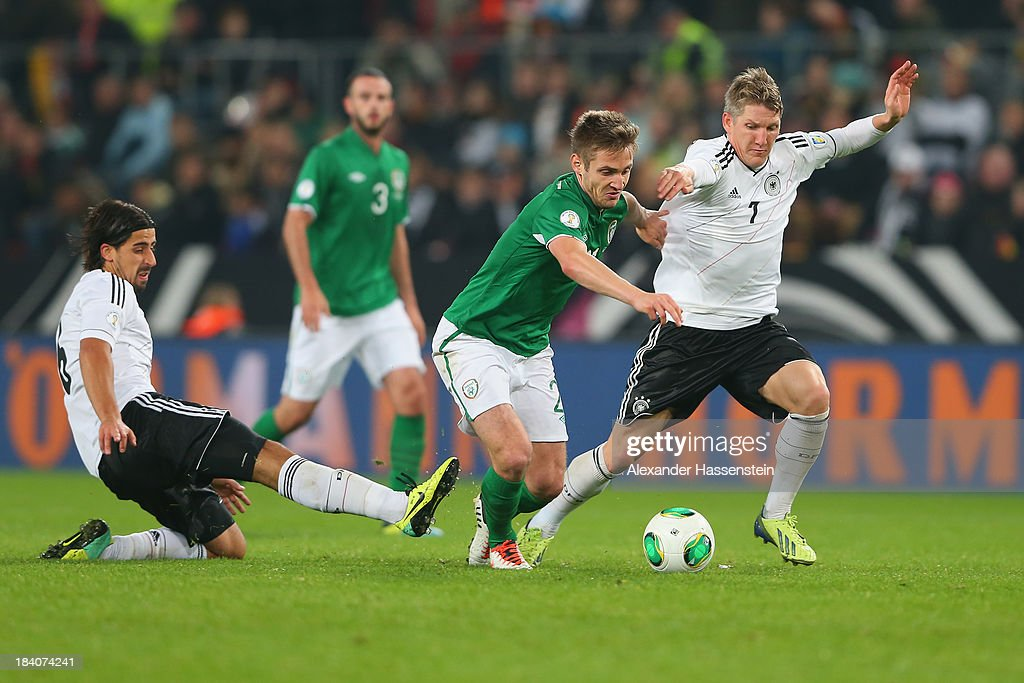 Germany v Republic of Ireland - FIFA 2014 World Cup Qualifier : News Photo