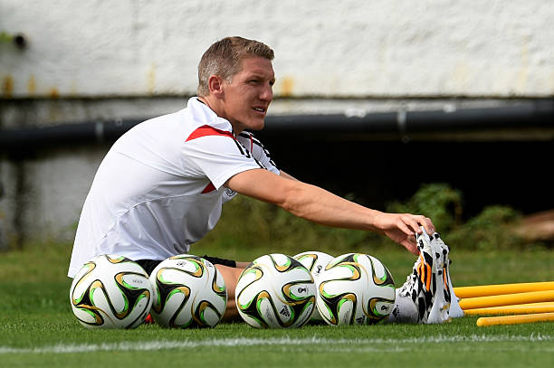 BRA: Germany Training and Press Conference: 2014 FIFA World Cup Brazil Final