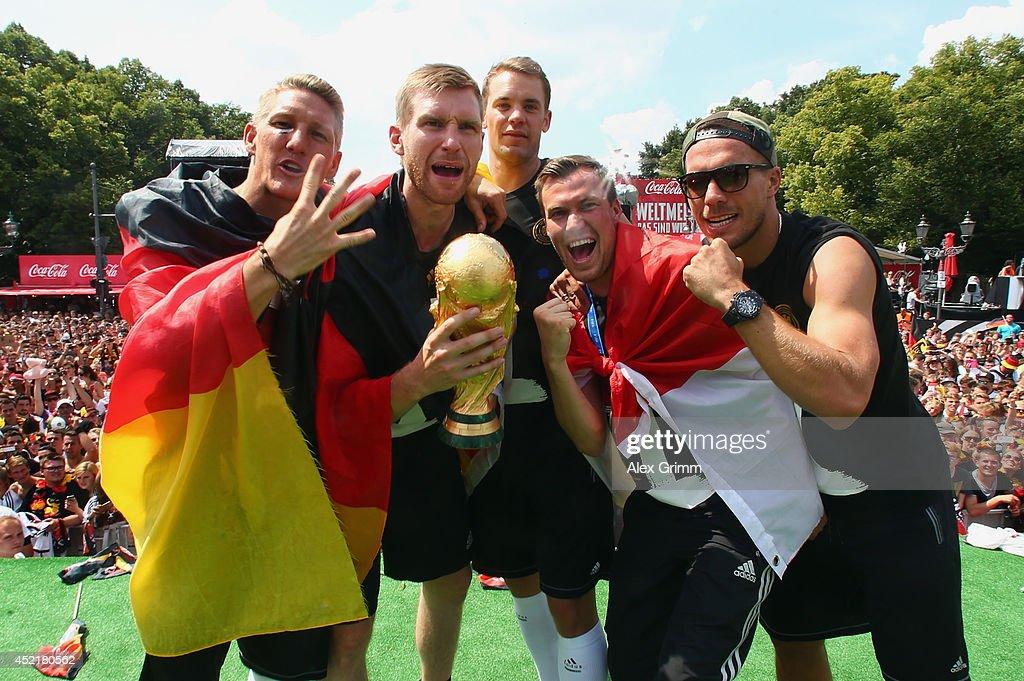 Germany Victory Celebration - 2014 FIFA World Cup Brazil : News Photo