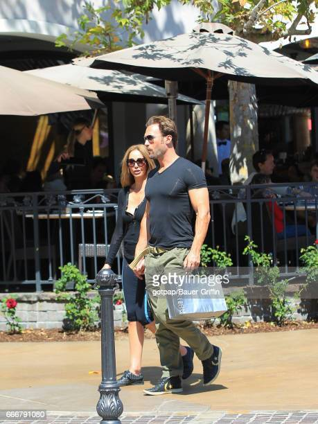 Bastian Yotta and Maria Yotta are seen on April 09 2017 in Los Angeles California