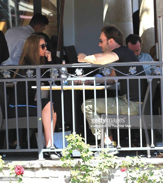 Bastian Yotta and Maria Yotta are seen on April 9 2017 in Los Angeles CA