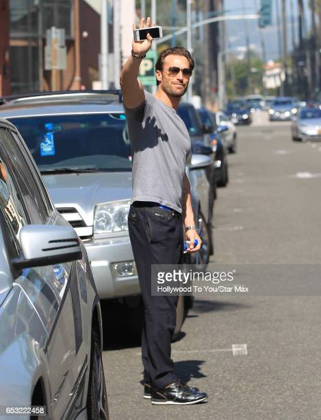 Bastian Yotta is seen on March 13 2017 in Los Angeles CA