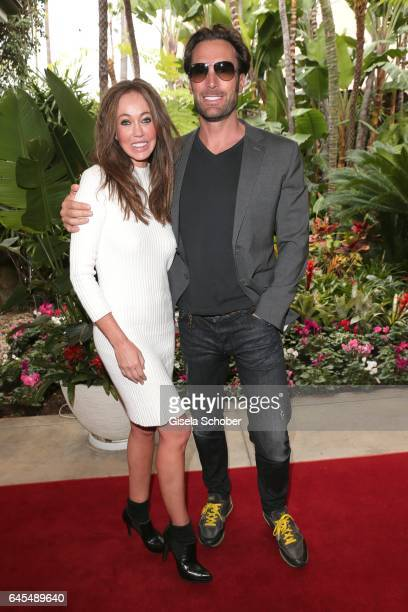Bastian Yotta ' Mr. Yotta' and his new girlfriend Melanie at the Beverly Hills Hotel on February 25, 2017 in Los Angeles, California.