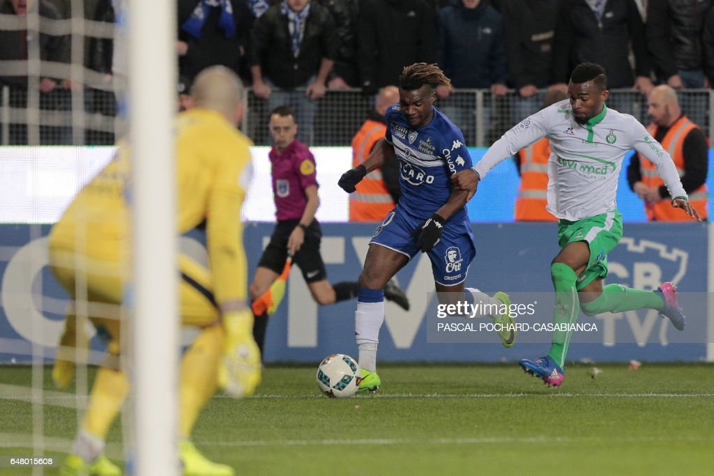 SC Bastia v AS Saint-Etienne - Ligue 1 Photos and Images | Getty Images